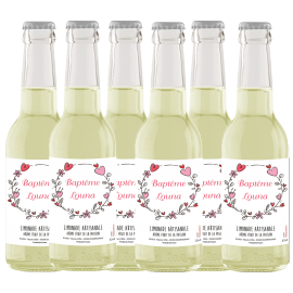 Limonade Artisanale Fruit de la Passion 33cl - Lot de 6
