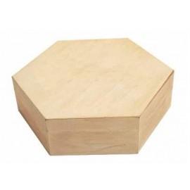 Boite hexagonale personnalisée