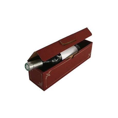 Coffret cadeau carton 1 Bouteille lie de vin