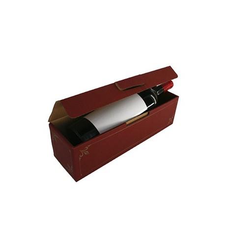 Coffret cadeau carton 1 Magnum lie de vin