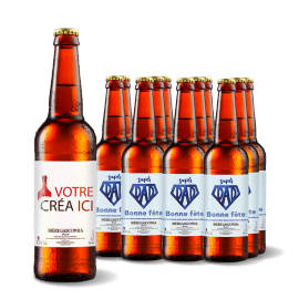 Bière Gasconha Blonde 33 cL - Lot de 12