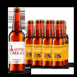 Bière Gasconha Blanche 33 cL - Lot de 12