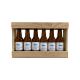 Bière 6 Gasconha Blonde 33 cL avec caisse bois