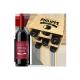 Caisse Mini-Cave 6 bouteilles Bordeaux Rouge