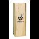 Caisse bois 1 Magnum Champagne à glissière personnalisée