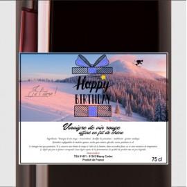 Vinaigre de vin rouge affiné en fût de chêne