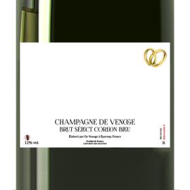 Double Magnum 3 L - Champagne De Venoge Brut