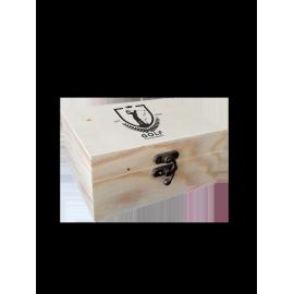 Boîte à thé personnalisée 2 compartiments