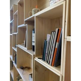 Caisse bois vin 6 bouteilles rangement décoration