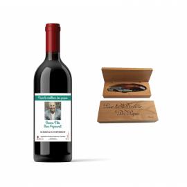 Bordeaux Supérieur et Coffret Tire-Bouchon
