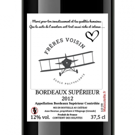Demi-Bouteille 37,5 cL - Bordeaux Supérieur 2013