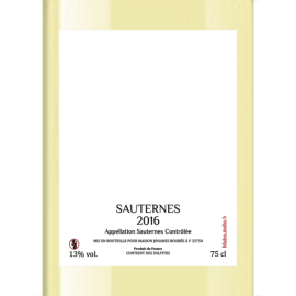 Sauternes 2018 (Liquoreux)