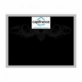 Etiquette 8x6 cm rectangulaire paysage adhésive