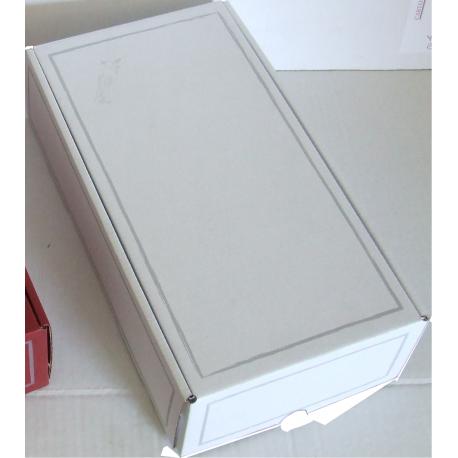 Coffret carton 2 Bouteilles blanc