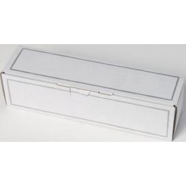 Coffret carton 1 Bouteille blanc