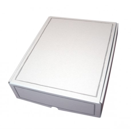 Coffret carton 3 Bouteilles blanc