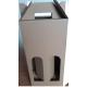 Coffret carton portable 2 Bouteilles kraft