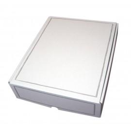 Coffret carton 3 Bouteilles blanc personnalisé