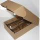 Coffret carton 2 Bouteilles kraft personnalisé