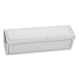Coffret carton 1 Magnum blanc personnalisé